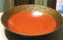 14 inch ceramic decor bowl in Bellevue, Nebraska