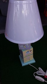 Lamp with shade in Cherry Point, North Carolina
