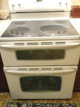 Maytag Gemini Electric smooth top Double oven range Precision touch 750 seris in Alamogordo, New Mexico