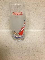 VINTAGE OLYMPICS GLASS COCA COLA DATED 1988 in Okinawa, Japan