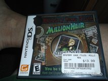 NINTENDO DS MYSTERY CASE FILE MILLIONHEIR in Alamogordo, New Mexico