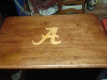 "Beautiful Handcrafted Solid Wood Alabama ""A"" Crimson Tide Table in Birmingham, Alabama"