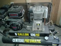 Central Pneumatic 9 gallon 135 Max PSI Gas Air Compressor in Birmingham, Alabama