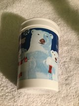 JAPAN 2002 BEARS COCA COLA TGIF CUP FROSTY FROLICKING in Okinawa, Japan