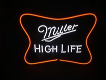 Miller High Life Neon Sign Like New in Aurora, Illinois
