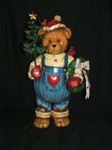 Christmas Bear Large All Metal Construction in Chicago, Illinois