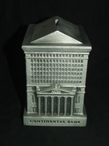 Continental Bank Building Cast Aluminum 1974 Replica by Banthrico in Naperville, Illinois