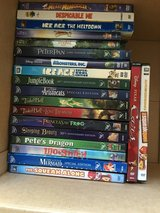 Disney DVDs and a couple bluray there is Alice and wonderland too just don't have it in pic in Fairfield, California