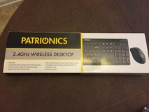 Patrionics 2.4GHz Wireless Keyboard and Mouse in Fort Campbell, Kentucky