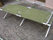 army cot in Ramstein, Germany