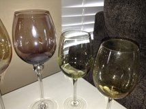 3 Colorful Wine Glasses in Westmont, Illinois