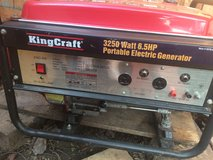 KingCraft Portable Generator 3250 W 6.5 Hp in Bolingbrook, Illinois