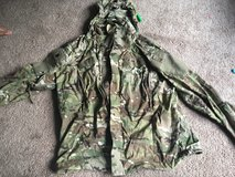 Soft shell cold weather jacket in Fort Lewis, Washington