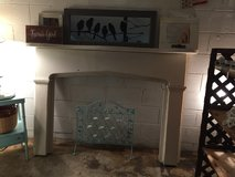 Vintage fireplace in Dover, Tennessee