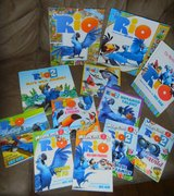 13 Rio Movie 1 & 2 Book Lot Play A Sound Look & Find Storybook Books in Houston, Texas