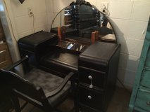 Black distressed vanity in Dover, Tennessee