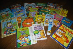 Garfield Book Lot 19 Books 2 Puzzles 1 Word Search 1 Book Mark Some Board Books in Houston, Texas