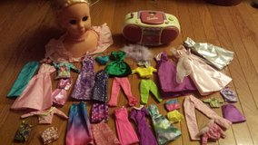 barbie and Disney princess in Plainfield, Illinois