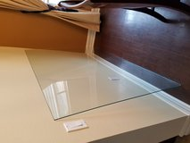 Glass Table too for over hard wood dining table in Camp Pendleton, California