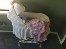 Bassinet with blanket in Fort Bliss, Texas