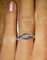 Princess cut engagement ring in Oswego, New York