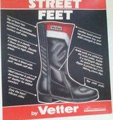 Street Feet Motorcycle boots by Vetter in Quad Cities, Iowa