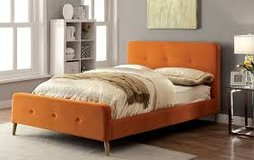 Orange Platform Bed in Fort Irwin, California