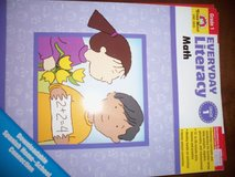 Brand new Everyday Math by evan-moor & mailbox Thematic books 1st grade in Fort Campbell, Kentucky