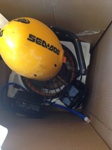 Seadoo personal underwater craft - used once in 29 Palms, California