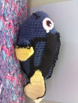 Crochet Dory toy in Colorado Springs, Colorado