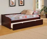 Cherry Wood Daybed with Trundle in Fort Irwin, California