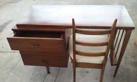 mid century desk and chair in Lawton, Oklahoma