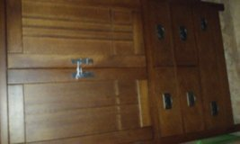 large tv hutch with 3 drawers in Lawton, Oklahoma