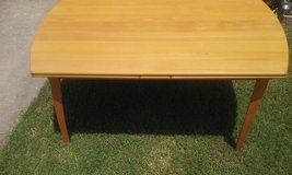 blonde natural  color kitchen table in Lawton, Oklahoma