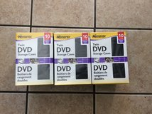DVD Storage cases 10pk lot in Fort Campbell, Kentucky