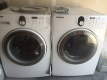 Samsung Stackable Washer and Electric Dryer in Tomball, Texas