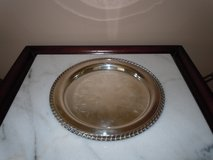"""Oneida Silverplate 10"""" Round Serving Plate/Tray in Algonquin, Illinois"""
