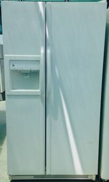 White GE Side by Side Refrigerator in Camp Pendleton, California