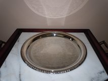 """Intern'l Silverplate Co. 12"""" Round Serving Tray/Plate in Algonquin, Illinois"""