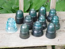 glass insulators in Naperville, Illinois