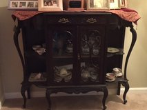 Victorian era china/display cabinet. in Dover AFB, Delaware