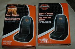 Harley Davidson Bucket Seat Covers in Camp Pendleton, California