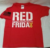 Red Friday.. Remembering Everyone Deployed youth T shirt   MADE TO ORDER in Fort Carson, Colorado