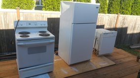 Kitchen appliances in Fort Lewis, Washington