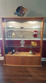 Lighted China cabinet for dining room in Baytown, Texas