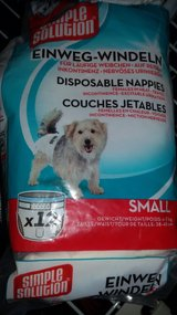 6 disposable doggy diapers S in Ramstein, Germany