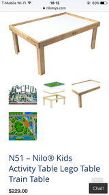 Nilo Kids Activity Table and Bin in Camp Lejeune, North Carolina