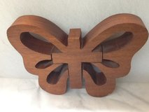 Butterfly Wood Decor in Spring, Texas