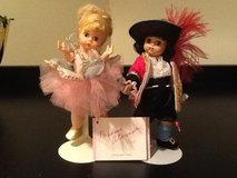 Madame Alexander Tinkerbell and Captain Hook Doll in Lockport, Illinois