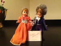 Madame Alexander Beauty  and Beast dolls in Aurora, Illinois